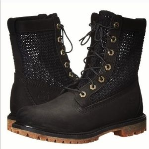 TIMBERLAND AUTHENTICS OPEN WEAVE 6-INCH BOOTS